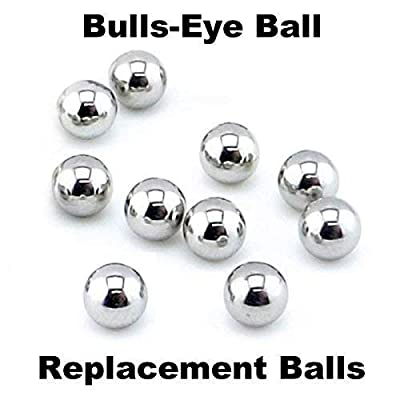 Tiger/Hasbro Bulls-Eye Ball 10 Replacement Steel Balls: Industrial & Scientific