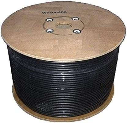 Wilson Electronics 500 ft Black Spool Wilson400 Ultra Low Loss Coax Cable