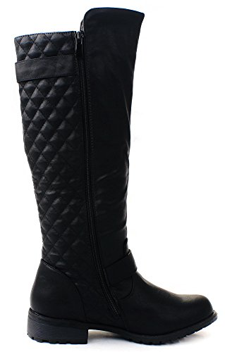 JJF Shoes Forever Link Mango-21 Lady Boot Black - 21 SLakq5l1kg