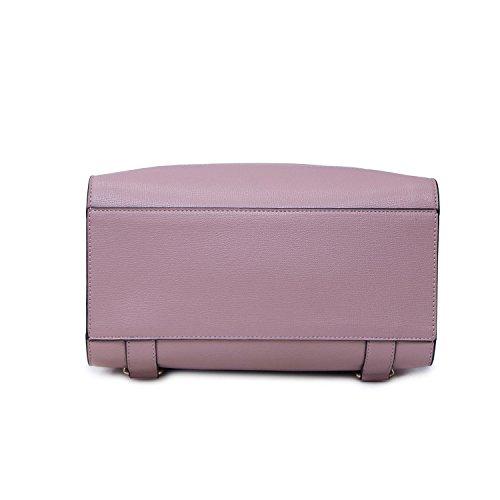Sac cuir grande poche PU Creative en main bandoulière Sac Petit Casual capacité Lady Pink décontracté de à dos à sac Sac de à à carré dos Voyage wwIT8