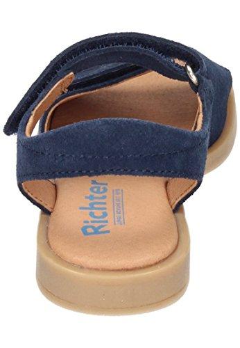 Richter Mädchen Sandale Blau