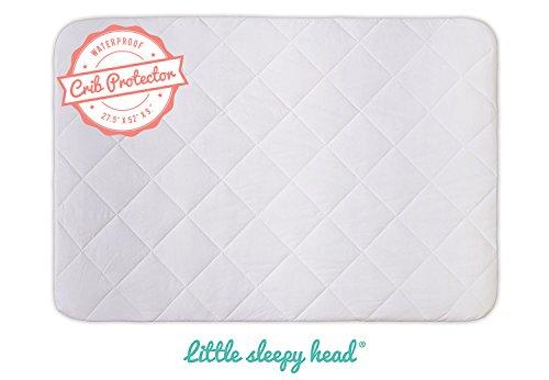 Soft, Quiet, Waterproof Crib & Toddler Bed Mattress Protecto