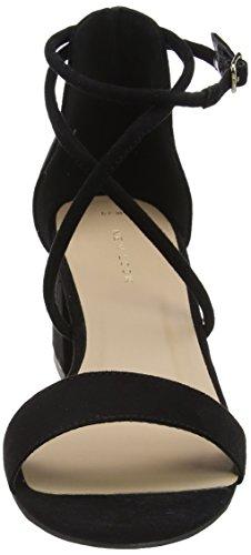 Look Noir New Bride Escarpins Femme Black Black Cheville Salamanca dCrnC