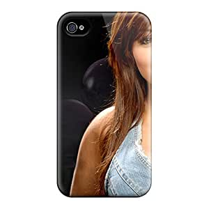 Ultra Slim Fit Hard BeautyEmotion Case Cover Specially Made For Iphone 4/4s- Ayesha Takiamovie Starindia