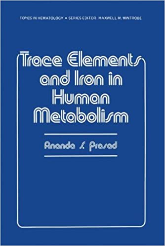 Book Trace Elements and Iron in Human Metabolism (Topics in Hematology)