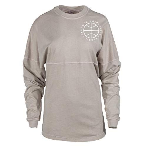 Official NCAA Venley Clemson University Tigers TIGER RAG! Women's Long Sleeve Spirit Wear Jersey T-Shirt