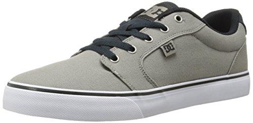 DC Men's Anvil TX Skate Shoe, Beige, 10 D US
