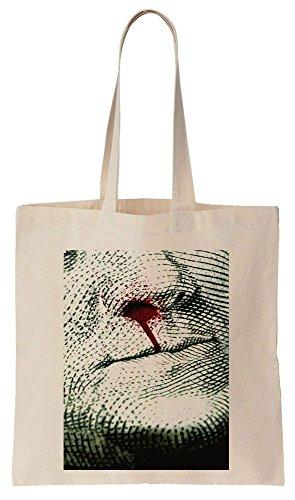 Pablo Algodón Compras Escobar de Bolsos Reutilizables Bag Blood Tote de Dollar x7gZO