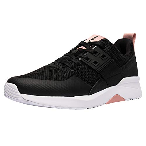 XTEP Synthetic Leather and Textile Upper Lightweight Urban Casual Shoes for Women with Pie Collection Technology