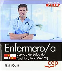 Descargar Libros En Ebook Enfermero/a. Servicio De Salud De Castilla Y León (sacyl). Test Vol. Ii: 2 De Gratis Epub
