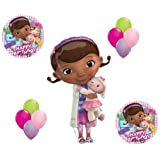 Doc McStuffin and Lambie Mylar Latex Happy Birthday Balloon Set Bouquet Disney