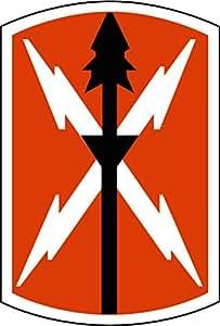 "Amazon.com: US Army 516th Signal Brigade SSI 6"" Magnet"
