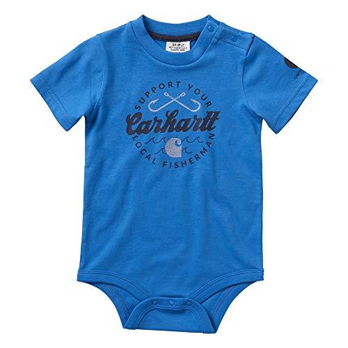 Carhartt Baby Boys' Short Sleeve Bodysuit