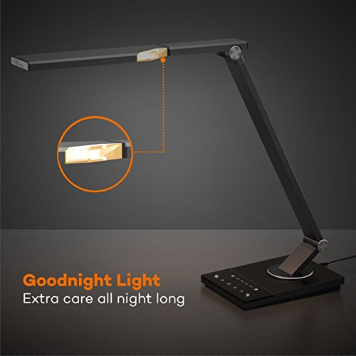 LED-Desk-Lamp-TaoTronics-Stylish-Metal-Table-Lamps-Office-Light-with-USB-Charging-Port-5-Color-Modes-6-Brightness-Levels-Memory-Favorite-Function-Timer-Night-light