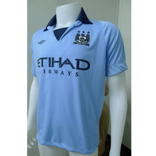 City Home Shirt - Manchester City Home Football Shirt 2012/13, Size 42