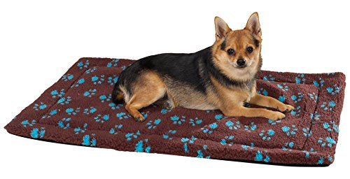 Slumber Pet ThermaPet Pawprint Crate Mats—Comfy and Innov...