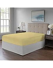 ملاية سرير محكمة باستك من القطن، قطعة واحدة لمرتبة مقاس 180 × 200 سم من تايجرز