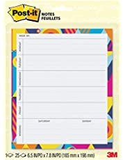 Post-it Super Sticky Printed Note Pads