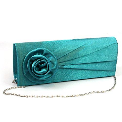 Sarcelle Taille Femme Vert Pour Black Unique Pochette Ginger Bleu czxq47Y4