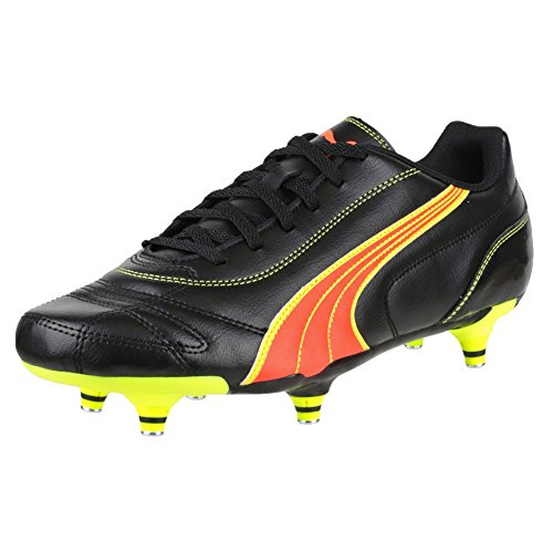 PUMA Kratero Screw-in Boot/Mens Football Boots (9 US) (Black/Pea) - Puma Sackpack