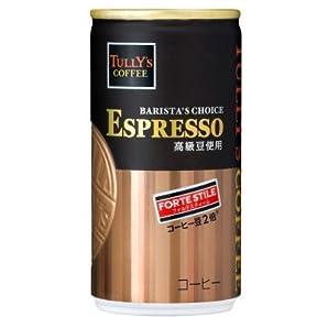 伊藤園タリーズコーヒーバリスタズチョイスエスプレッソフォルテスティーレ190g30本