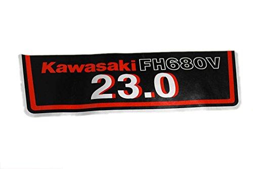 Kawasaki 56080-7009 FH680V Label Engine Parts