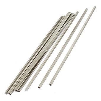 3mm x 20mm x 200mm Silver Tone High Speed Steel Milling Lathe HSS Tool Bit