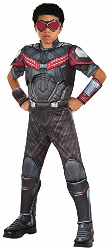 Rubie's Costume Captain America: Civil War Falcon Deluxe Muscle Chest Child Costume, Large -