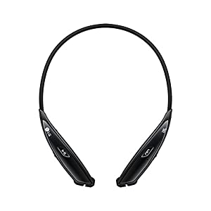 LG Electronics Tone Ultra HBS-810 Bluetooth Wireless Stereo Headset - Retail Packaging - Black