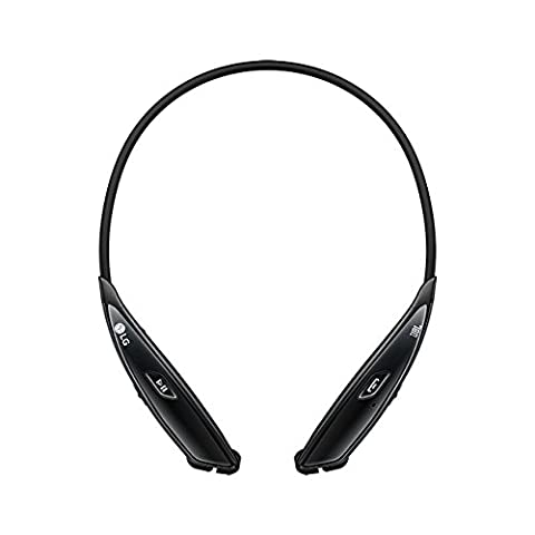 LG Electronics Tone Ultra HBS-810 Bluetooth Wireless Stereo Headset - Retail Packaging - Black (Lg Bluetooth Headset Tone Pro)