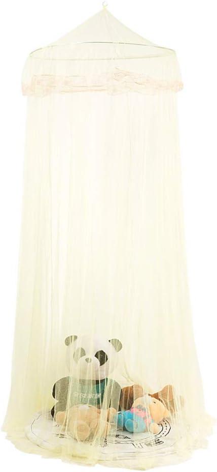 CHIRORO Moskitonetz Netz Kuppel Betthimmel Weich Elegant Baby Betthimmel Baldachin Rund Moskitonetz Kinder Spielzelte Dekoration f/ürs Kinderzimmer,Blau