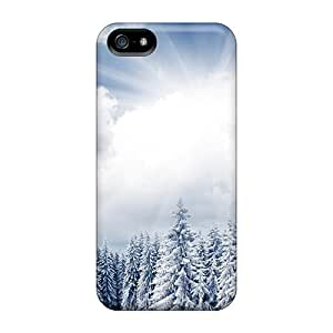 New Heavy Winter Sunshine Tpu Case Cover, Anti-scratch Fascinating Laugh Phone Case For Iphone 5/5s