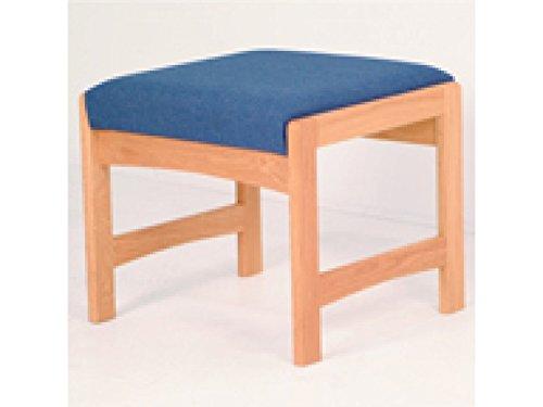 Dakota Wave Single Reception Bench by Wooden Mallet