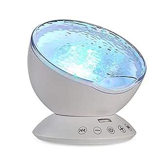TOMNEW Mando a Distancia Ocean Wave Proyector Aurora Lámpara de ...