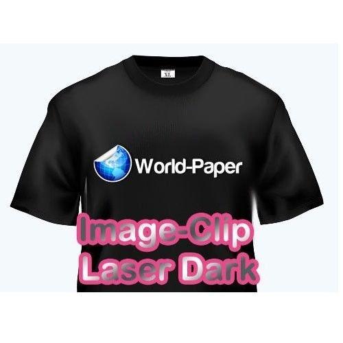 LASER DARK TRANSFER PAPER: NEENAH 'IMAGE CLIP LASER DARK' (8.5'X11') 25Pk :)