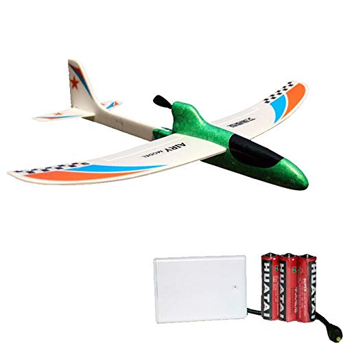 Kikioo Greatest PAK Hand Launch Glider Planes Airplane, Flying Glider Planes Throwing Foam Airplane Inertia Durable Aircraft Model For Children Boy Girl Home Decoration Collection Outdoor Sport Flying