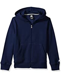 Boys' Solid Zip-Up Hoodie, Amazon Exclusive