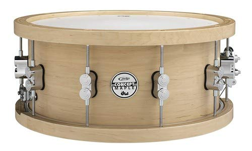 PDP 20-Ply Maple Snare with Wood Hoops and Chrome Hardware 14 x 5.5 in. by PDP by DW (Image #1)