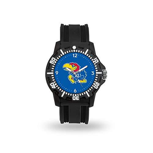 Rico Industries NCAA Kansas Jayhawks Model Three Watch - Kansas Jayhawks Sport Steel Watch