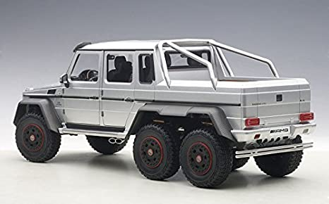 Amazon.com: Auto Art (AUTOart) AUTOart 1/18 Mercedes-Benz G63 AMG 6X6 (Silver) finished product: Toys & Games
