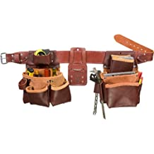 Occidental Leather 5080DBLH XXL Pro Framer Tool Belt Set with Double Outer Bags, Left Hand, XX-Large