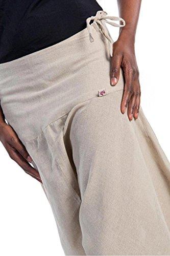 Fantazia - Pantalón - para mujer crema