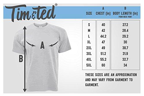 Confezione da 2 T-Shirt nella Miniera di San Valentino Hers LGBT San Valentino Presente di Gray Lei