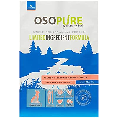 Artemis OSOPURE Limited Ingredient Formula Grain Free Dual Animal Protein & Garbanzo Dry Pet Food for Dog & Cat