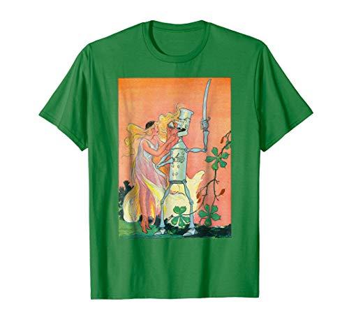 (Sky Princess Oils The Tin Soldier Oz St. Patricks Day Shirt)