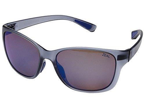 Zeal Optics Unisex Magnolia Matte Smoke W/ Polarized Horizon Blue Lens - Zeal Sunglasses