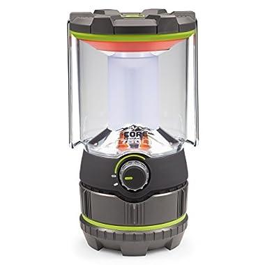 CORE 750 Lumen CREE LED Battery Lantern, 4 D batteries, Camp Lantern, Emergency Lantern