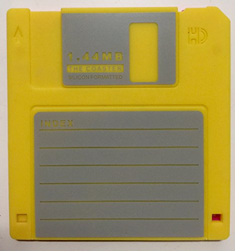 414iqruIbML - Retro Floppy Disk Coasters