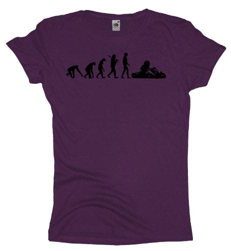 Ma2ca - Evolution - Gokart Girlie T-Shirt Purple