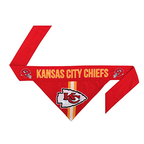NFL Kansas City Chiefs Pet Bandanna, Small